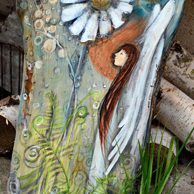 Anioł z Krainy Baśni - to oryginalny prezent na chrzest lub komunię