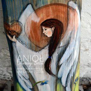 Anioł Ofiarnego Serca - prezent dla rodziców od pary młodej