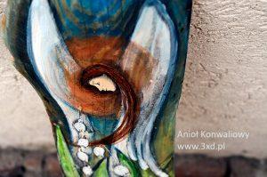 Anioł Konwaliowy - oryginalny prezent dla rodziców od pary młodej