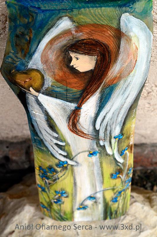 Anioł Ofiarnego Serca - oryginalny prezent dla rodziców od pary młodej