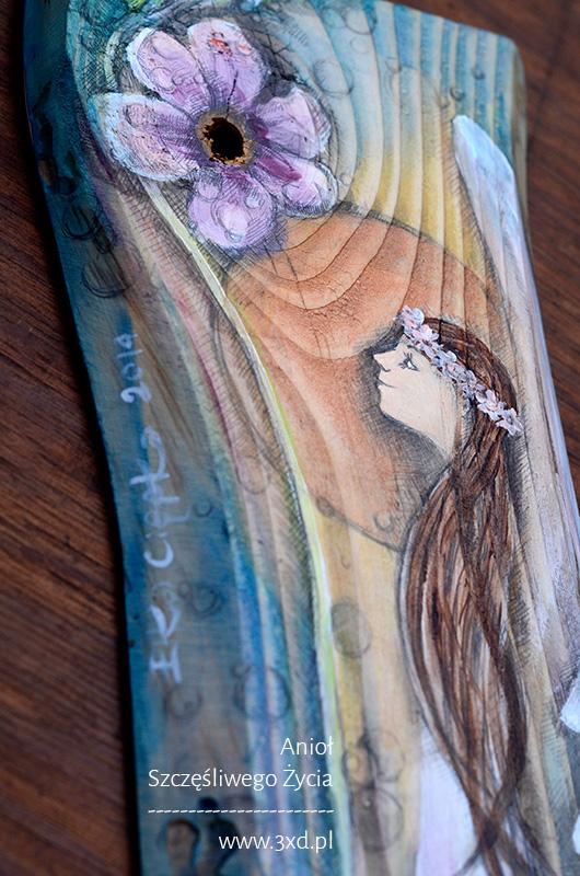 Anioł Szczęśliwego Życia - najlepszy prezent na chrzciny lub komunię świętą