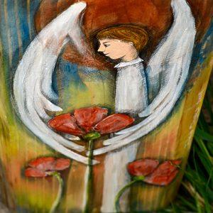Anioł Wsparcia - prezent na chrzciny chłopczyka, podarunek na komunię dla chłopca lub prezent dla mężczyzny w każdym momencie jego życia