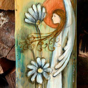Anioł Zamyślenia nadaje się na prezent ślubny lub na prezent z okazji rocznicy ślubu