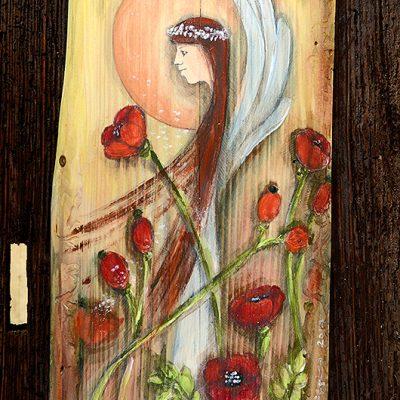 Anioł w Różanych Objęciach | Prezent na każda okazję i dla każdego kochającego kwiaty