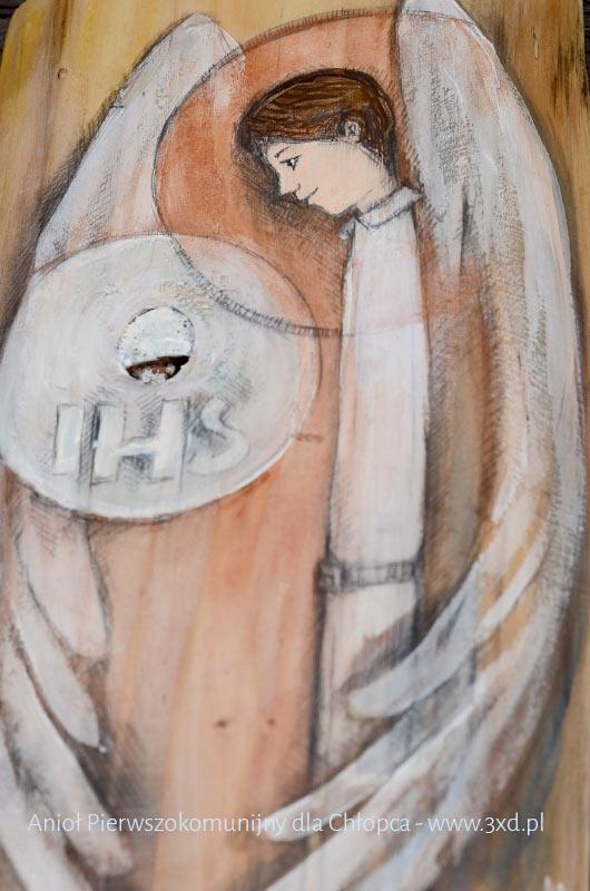 Anioł Pierwszokomunijny to najlepszy prezent dla chłopca z okazji Pierwszej Komunii Świętej
