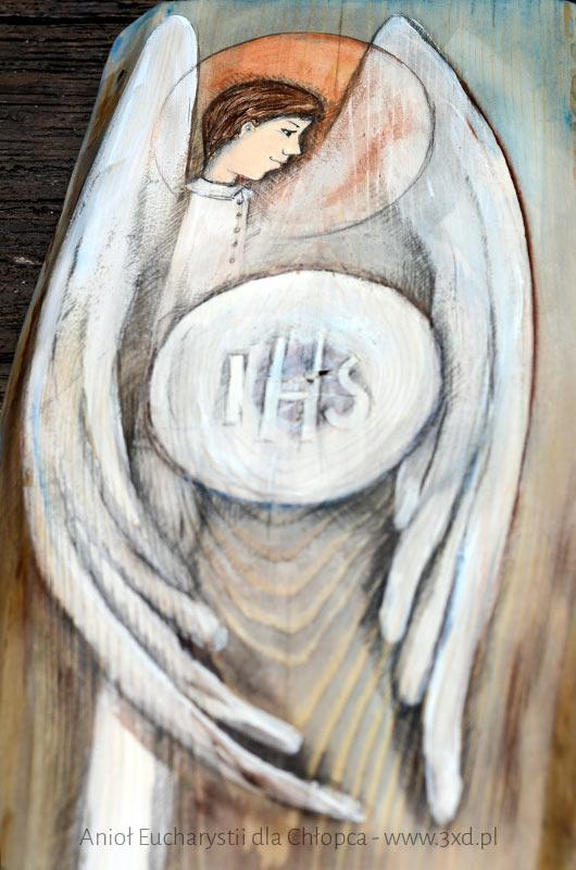 Anioł Eucharystii dla Chłopca - www.anielska-pracownia.pl