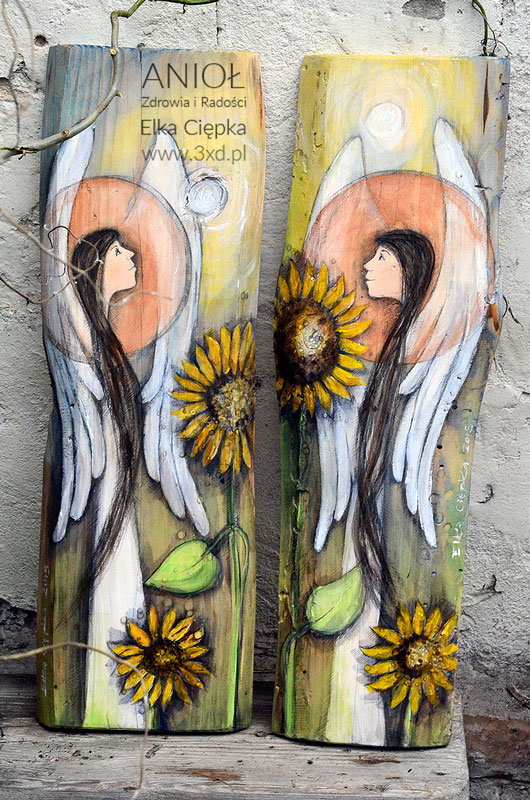 Anioł Zdrowia i Radości - dla tego, komu życzysz życia w zdrowiu i radości. Czy aby nie wszyscy nasi najbliżsi zasługują na takie życzenia?
