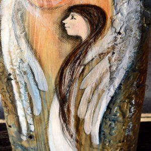 """""""Anioł Zawsze w Pobliżu"""" zawsze bedzie w pobliżu i kiedy tylko poczujesz, że potrzebujesz Jego pomocy - zwróc się do niego!"""