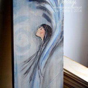 Anioł Odwagi wspiera odwagę i samozaparcie
