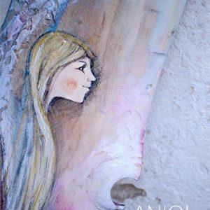 Anioł Radość Niosący dla tych, którym ciężko dostrzec radości dnia codziennego