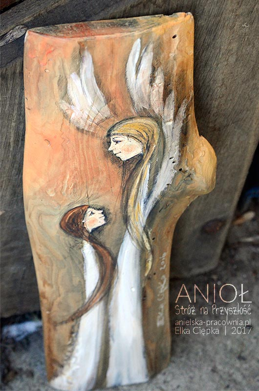 Anioł Stróż na Przyszłość jest doskonałym prezentem na Chrzciny lub Komunię Świętą
