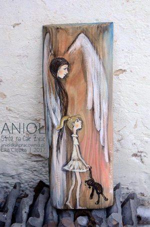Anioł Stróż na Całe Życie jest doskonałym prezentem na Chrzciny lub Komunię Świętą