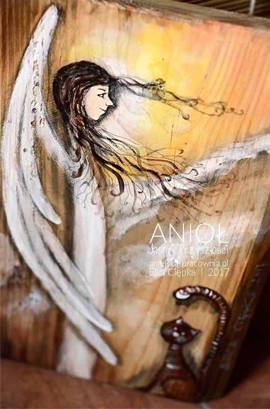 Anioł Jasnej Przyszłości - piękny prezent na chrzest lub komunię