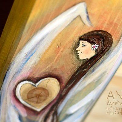 Anioł Życzliwego Serca - podarunkiem na chrzest, komunię, wesele i wszystkie inne okazje