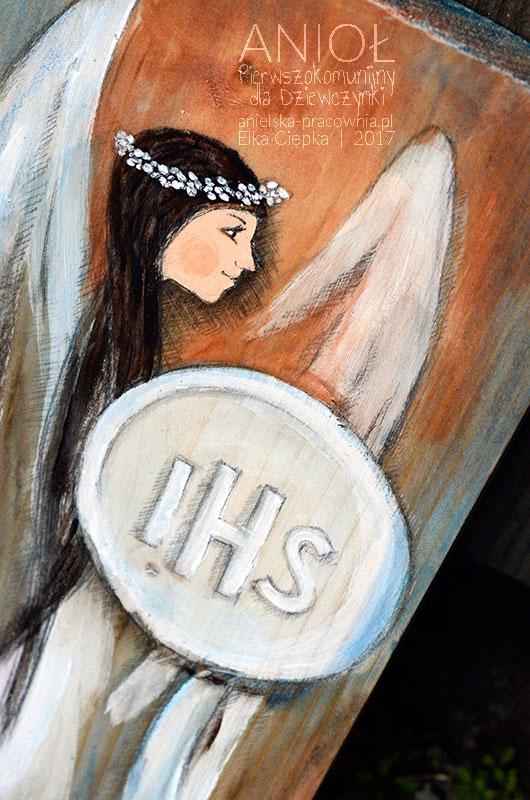 Anioł Pierwszokomunijny dla Dziewczynki jest wyjątkowym prezentem i równocześnie pamiątką na długie lata dla dziewczynki z okazji Pierwszej Komunii Świętej