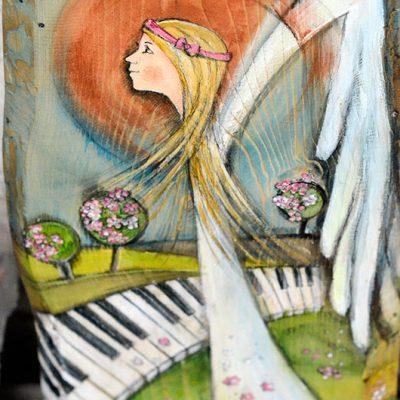 Anioł Śmiało Kroczący przez Życie pomoże w realizacji życiowych planów i spełnianiu życiowych pasji
