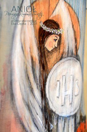 Anioł Pierwszej kKomunii Świętej to doskonały prezent dladziewczynki na komunię