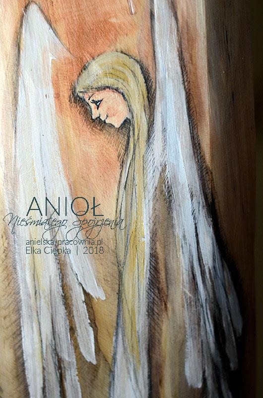 Anioł Nieśmiałego Spojrzenia aby pomóc dziecku nabrać śmiałości i odwagi życia