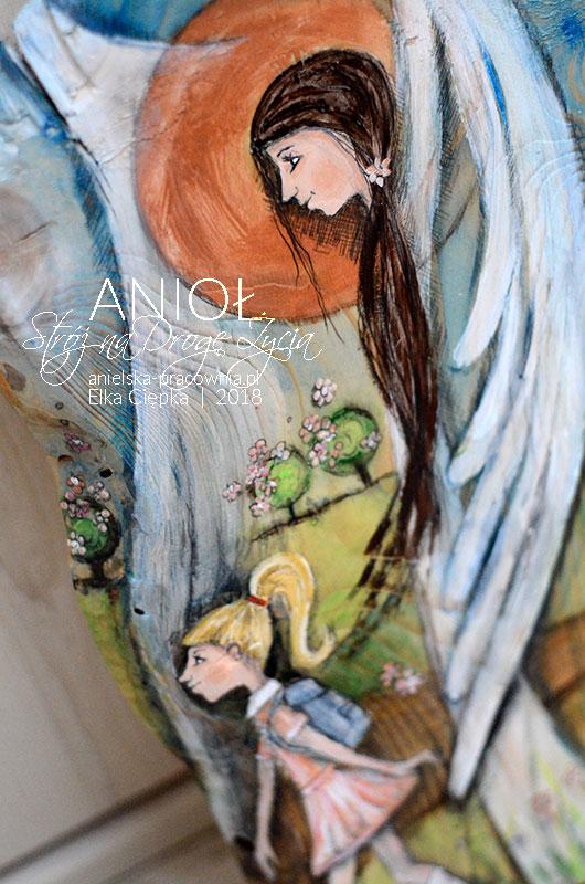 Anioł Stróż na Drogę Życia to prezent na chrziny, komunię i każdą inną okazje w życiu dziecka