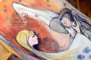 Anioł Matczynej Czułości - prezent na chrzciny lub na Dzień Matki