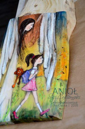 Anioł Stróż Codzienności jest doskonałym prezentem na Chrzciny - u progu nowego życia lub Komunię Świętą - u progu nowej jakości życia