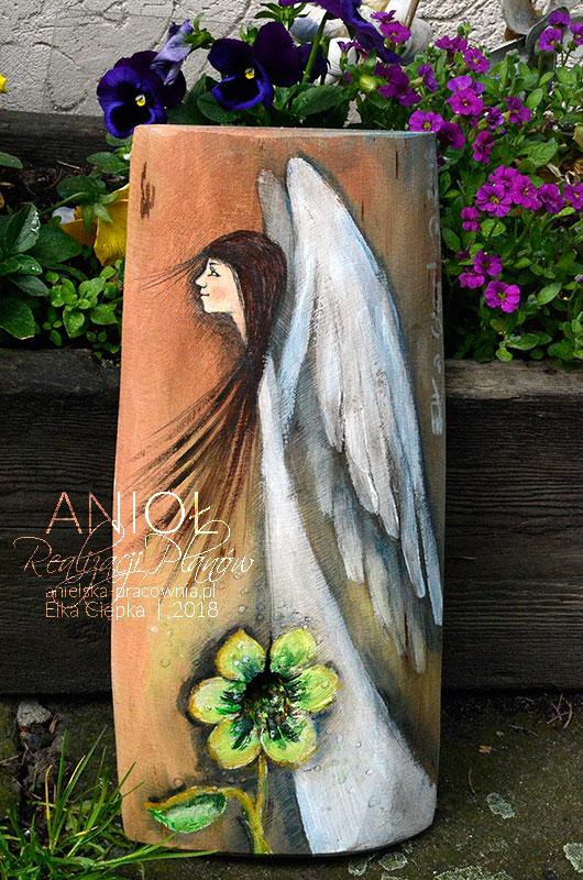 Anioł Realizacji Planów jest symbolem dobrych życzeń, aby plany i zamierzenia realizowały się w życiu dziecka lub dorosłych