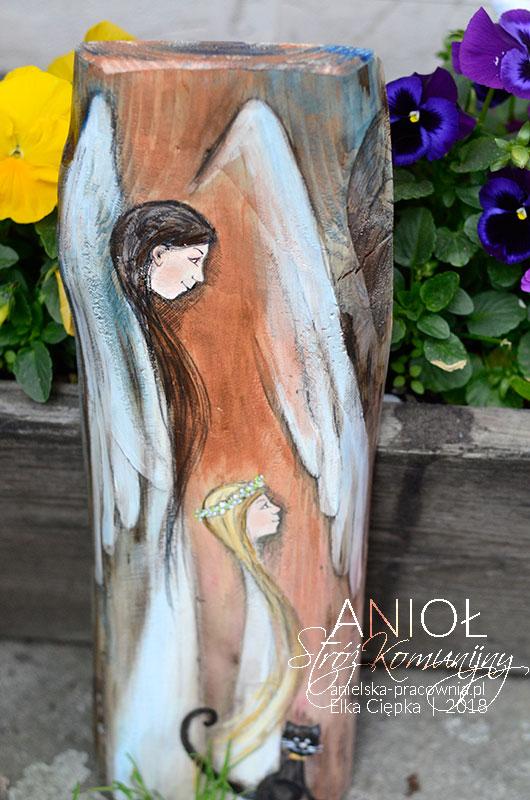 Anioł Stróż Komunijny jest doskonałym prezentem dla dziewczynki na Pierwszą Komunię Świętą