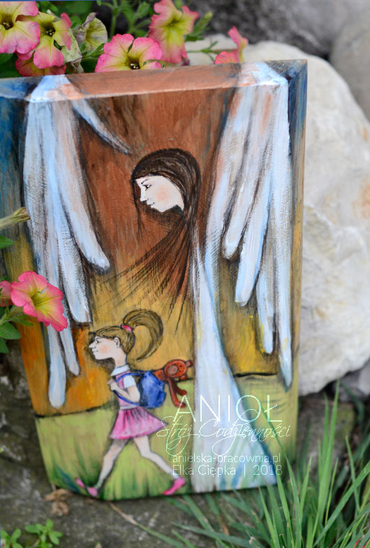 Anioł Stróż Codzienności - piękny i niepowtarzalny prezent dla dziecka z okazji chrztu, komunii lub każdej innej