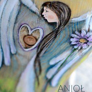 Anioł Miłość Niosący niech pod każdy dach zaniesie miłość, wzajemny szacunek, ciepło i zrozumienie