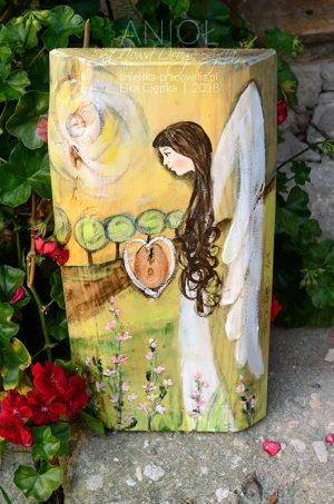 Anioł na Nową Drogę Życia dla Młodej Pary z okazji ślubu