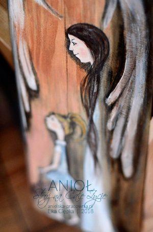 Anioł Stróż na Całe Życie - prezent na chrzciny lub pamiątka Pierwszej Komunii dla dziewczynki