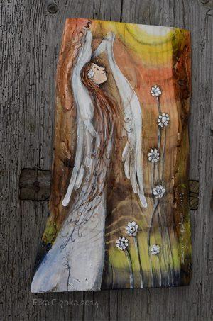 Anioł w Pełnym Blasku rozpromieniający wszystkich i wszystko wokół